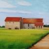 Three Barns,Rusty Roofs