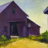 Red Barn Purple Barn