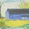 Early Spring/Blue Barn